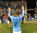 Espectacular gol de David Villa en la liga de EE UU