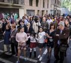 El Cristo resucitado estrena procesión en Pamplona