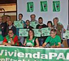 La PAH pide una ley de vivienda que evite que 1,5 familias al día pierdan su casa en Navarra