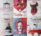 Éstos son los seis carteles finalistas de las fiestas de Tudela 2017