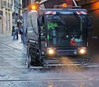 """Pamplona, obligada a comprar de """"emergencia"""" máquinas de limpieza"""