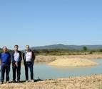 Los cazadores de Cáseda promueven una balsa para fauna silvestre