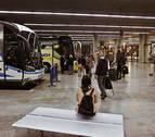 La estación de autobuses de Pamplona pierde 400.000 viajeros desde su apertura
