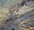 Solo seis de los 24 incendios forestales en Asturias permanecen activos