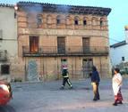 Arde en Milagro la antigua Cooperativa de Agricultores