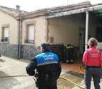 Un incendio en una casa de San Adrián causa daños materiales en el inmueble
