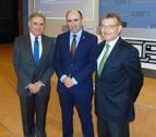 Ayerdi aboga por actualizar la estrategia logística de Navarra e integrarla en la red europea