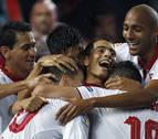 El Sevilla alcanza al Atlético de Madrid