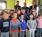 El colegio de Cáseda estrena biblioteca