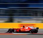 Ferrari impresiona con pole de Vettel