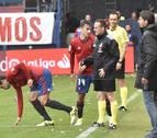 Javier Flaño juega en lugar de Oier y Arzura se mantiene en el once