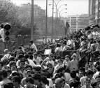 Hace 30 años, la Vuelta regresó a Navarra tras ocho de ausencia y desató la fiebre por el ciclismo