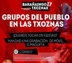 La Comisión de Txoznas busca grupos de Barañáin para tocar en fiestas