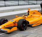 Alonso comienza su adaptación a la Indy:
