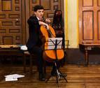 Premiado en A Coruña un joven violonchelista navarro