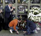 Familiares y políticos recuerdan a Caballero en el aniversario de su asesinato
