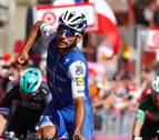 El colombiano Fernando Gaviria logra su primera gran etapa
