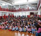 El colegio de Castejón celebra la Semana de Acción Mundial por la Educación