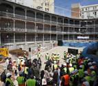 Termina la primera fase de la rehabilitación del frontón Beti Jai de Madrid