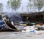 Muere un feriante en Salamanca al explotar la caravana en la que dormía