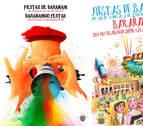 Estos son los tres carteles que compiten por anunciar las fiestas de Barañáin