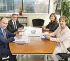 Navarra y la CAV comparten el impulso del corredor Atlántico del TAP