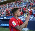 Sergio León agradece a Osasuna el haberle llevado a Primera