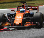 Hamilton logró la victoria en Barcelona y Alonso acabó duodécimo