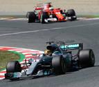 Hamilton  hace la 'pole' con récord, Alonso y Sainz octavo y noveno