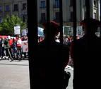 Sindicatos de Policía Foral intentan acordar un texto con sus demandas básicas