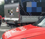 Inmovilizado un camión de reparto en Bera al dar positivo en hachís su conductor