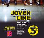 El INDJ y Cines Golem ponen en marcha 'Martes al cine con Carné Joven'