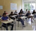 Casi un centenar de alumnos se examinan de chino en la UPNA
