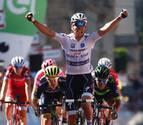 Jungels se estrena con un triunfo en el sprint final de Vergamo