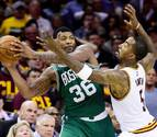 Los Celtics remontan y rompen la imbatibilidad de los Cavaliers