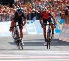 Nibali gana delante de Landa y Quintana