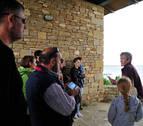 Pitillas introduce una visita guiada a la iglesia en la Fiesta del Agua