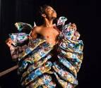 Un coreógrafo congoleño estrena en el Teatro Gayarre 'More, more, more... future'