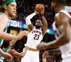 Irving y James remontan y dejan a los Cavaliers al borde de las Finales