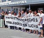 """Trabajadores de las cocinas del CHN denuncian """"desamparo absoluto"""""""