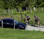 Cuatro ciclistas, heridos tras sufrir caídas en Ablitas y Ribaforada