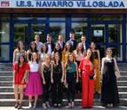 Se gradúa la primera promoción de Bachillerato Internacional de Navarra