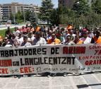 La cifra de afectados por regulaciones de empleo sube un 6,6% en Navarra