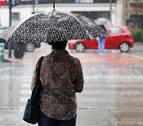 Tiempo revuelto, lluvias y subida de temperaturas el fin de semana en Navarra