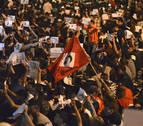 Miles de rifeños vuelven a protestar en Alhucemas pese al arresto de su líder