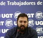 UGT de Navarra muestra su solidaridad con los imputados por la huelga de 2012
