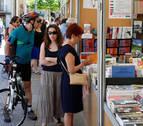 Pamplona, una ciudad que siempre responde a la Feria del Libro