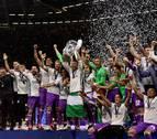 El Real Madrid prolonga su reinado europeo