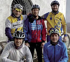 El fallecido, un vecino de Villatuerta, miembro del club ciclista Ondalán
