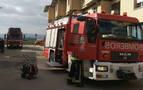 Tres trabajadores intoxicados en un incendio en Talluntxe